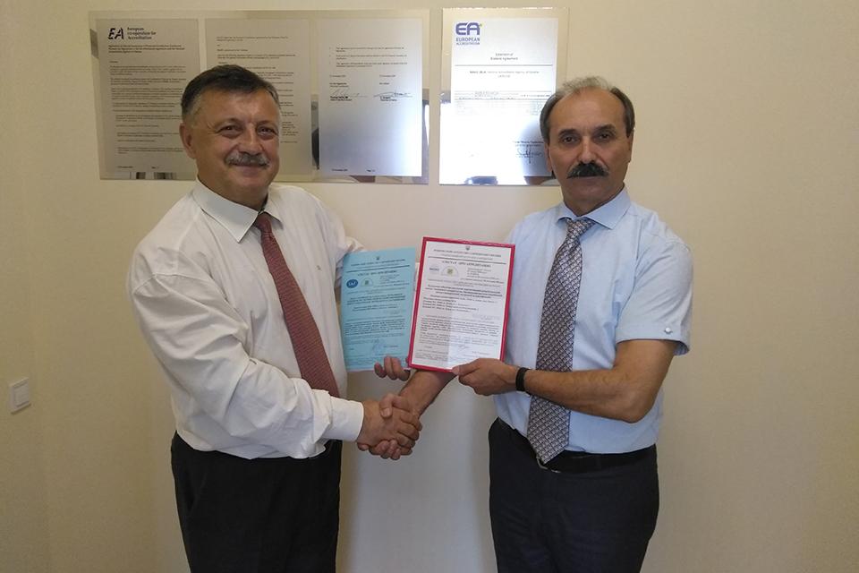 """Органом з сертифікації ДП""""Волиньстандартметрологія"""" підтверджено свою компетентність по закріплених видах робіт відповідно до вимог ISO/IEC 17065:2014 та розширено сферу акредитації по нових видах продукції"""